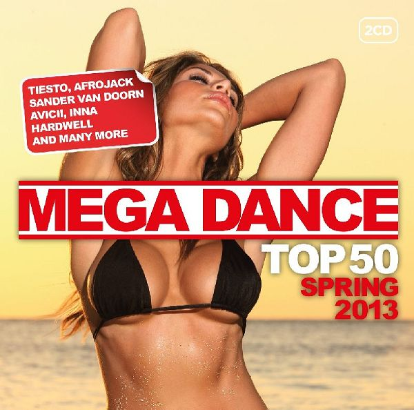 Mega Dance Top 50 Spring 2013 (2013) [MULTI]