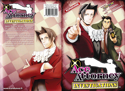 Ace Attorney Investigations - Tome 1
