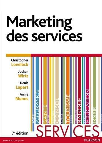 Christopher Lovelock - Marketing des services