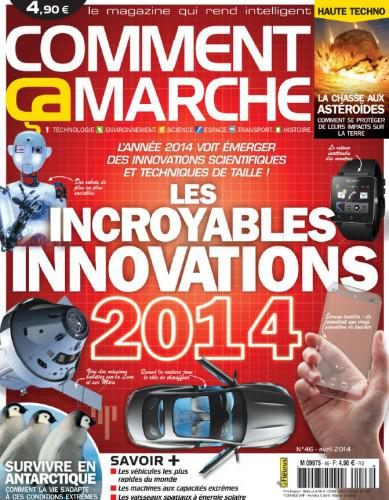 Comment ca Marche - Marche Avril 2014