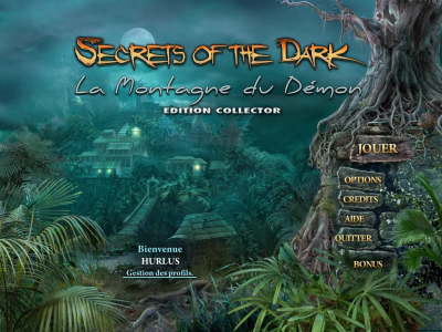 Secrets of the Dark: La Montagne du Démon Edition Collector [PC] [MULTI]