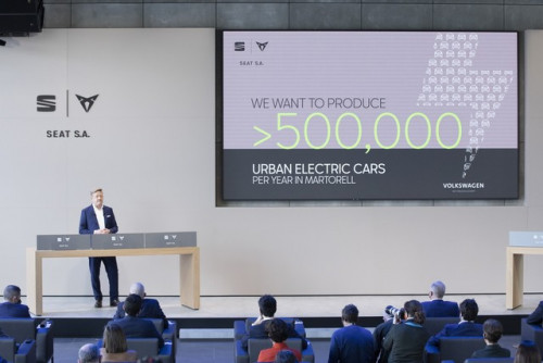 SEAT SA will launch an urban electric car in 2025 02 HQ