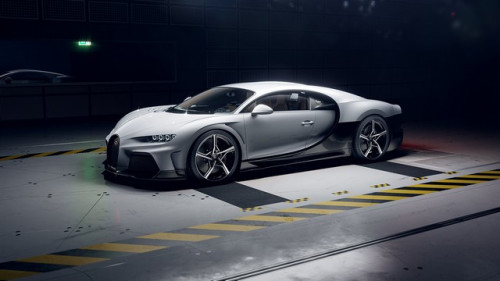01 02 bugatti chiron super sport windtunnel front tipped up