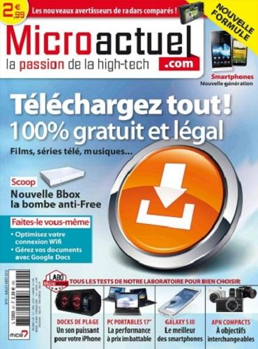 Micro Actuel N°91 - Juillet Aout 2012 [Multi]