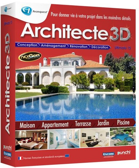 D tails du torrent architecte 3d 2012 ultimate t411 for Amenager son jardin 3d gratuit