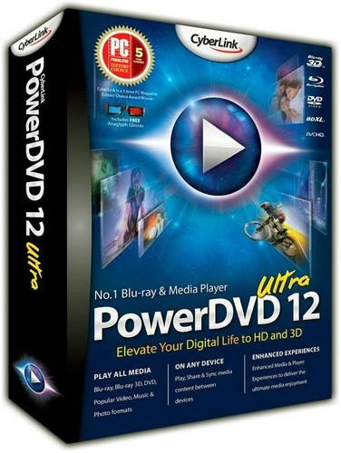 CyberLink PowerDVD Ultra v12.0.1312.54 [MULTI]