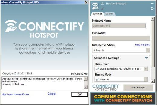Connectify hotspot professional 4.1.0.25941