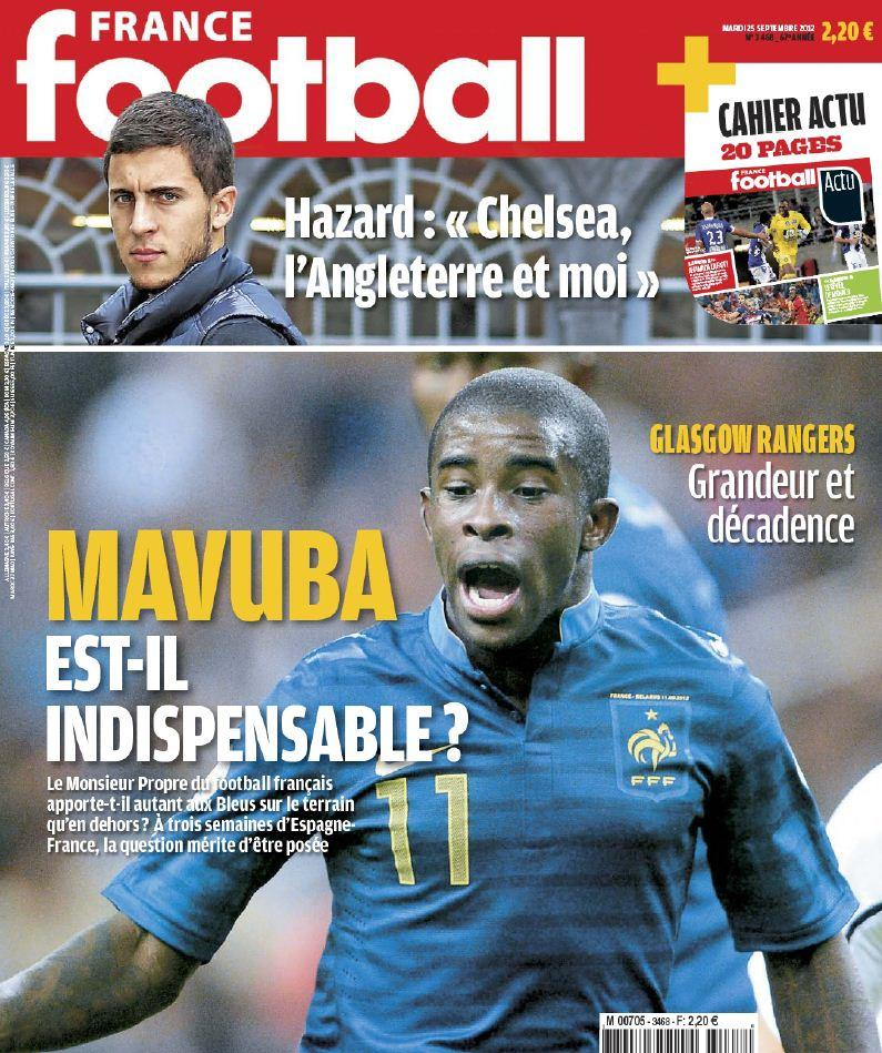 France Football Mardi - 25 Septembre 2012 [Multi]