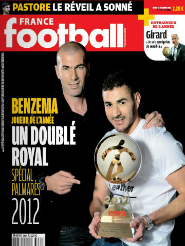 France Football - Mardi 18 Decembre 2012 [Lien Direct]