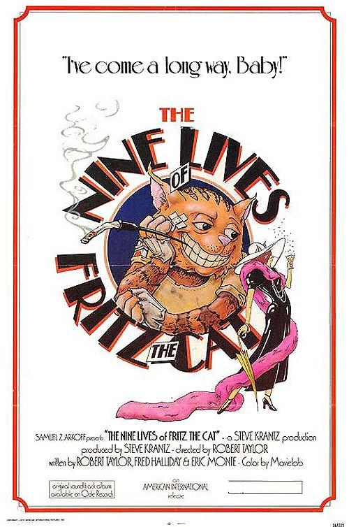 [MULTI] The Nine Lives Of Fritz The Cat [VOSTFR][DVDRIP]