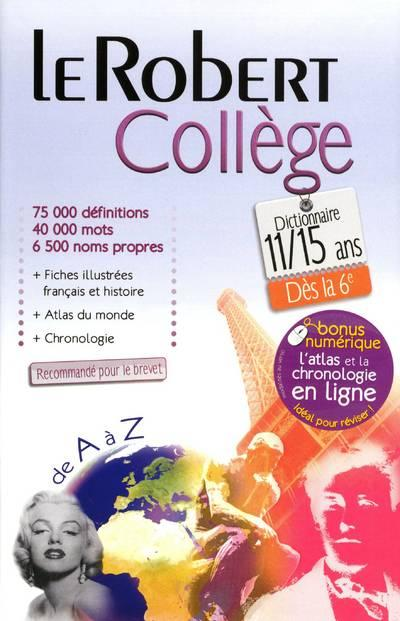 T�l�charger Le Robert College 2012 Le Robert College 2012