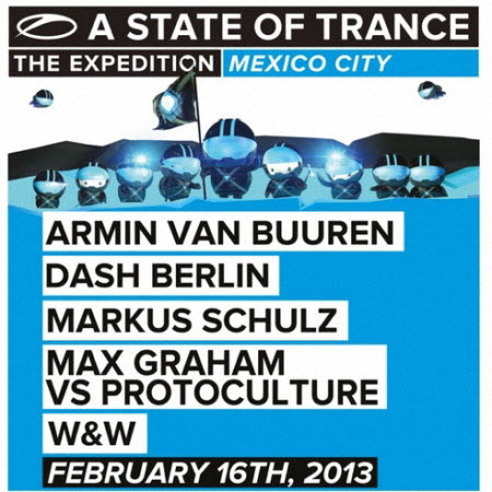 A State Of Trance 600 : The Expedition - Mexico City (2013)