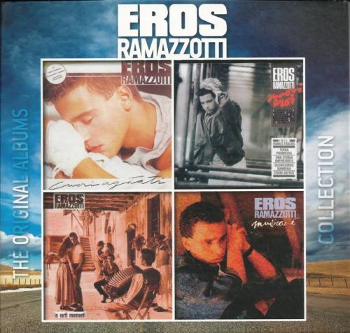 Eros Ramazzotti - The Original Albums Collection Vol.1 (4CD, 2012) [Multi]