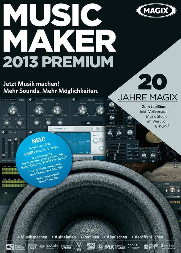 [Multi]  Music Maker 2013 Premium v19.0.1.36 |FRENCH| [Patch]