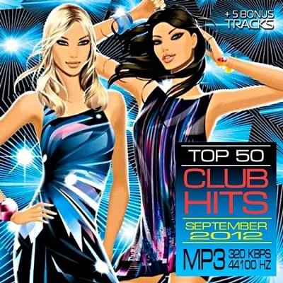 Top 50 Club Hits September 2012 [Multi]
