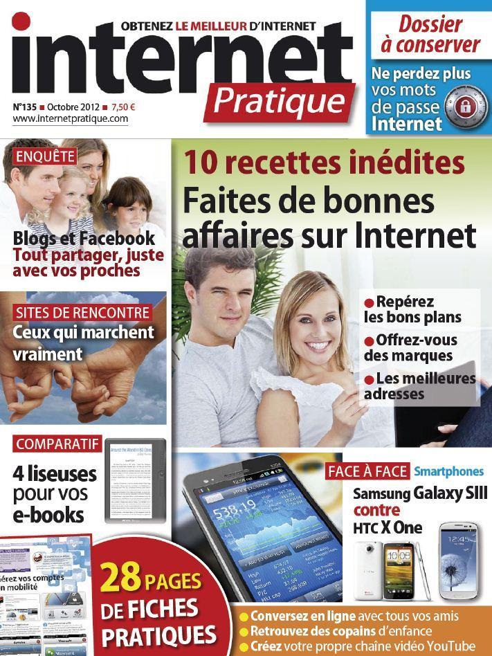 Internet Pratique N°135 - Octobre 2012 [Multi]