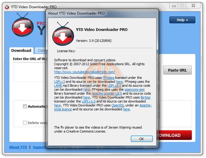[Multi]  YTD YouTube Downloader Pro v3.9.6 Cracked