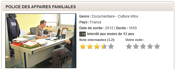 Police Des Affaires Familiales (2012) [FRENCH | PDTV] [MULTI]
