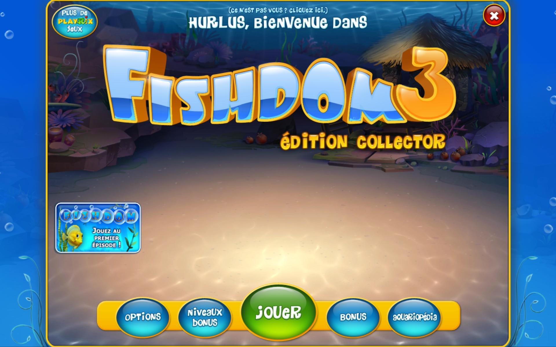 [MULTI]  Fishdom 3 Edition Collector [PC FR]