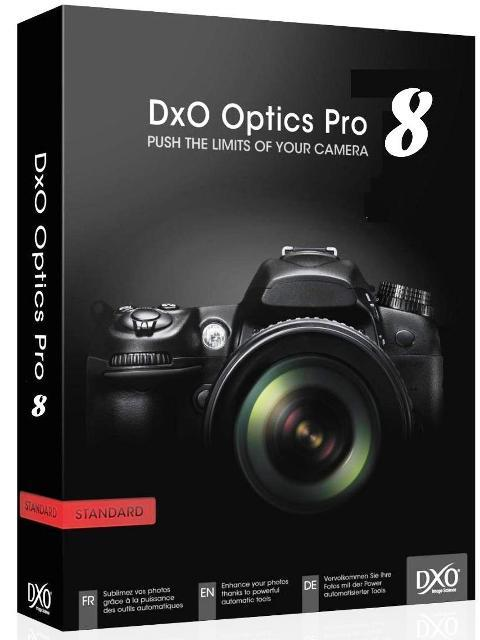 DxO Optics Pro 8 - x86 & x64 Incl Patch [MULTI]