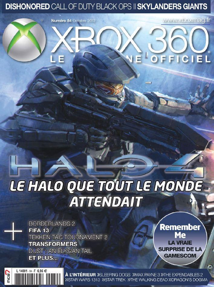 XBox 360 Le Magazine Officiel N°84 - Octobre 2012 [Multi]