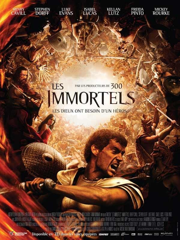 Immortals [AC3] [FRENCH] [BRRIP] [MULTI]