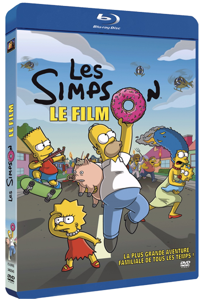 Les Simpson, le film [FRENCH] [1080p BluRay]