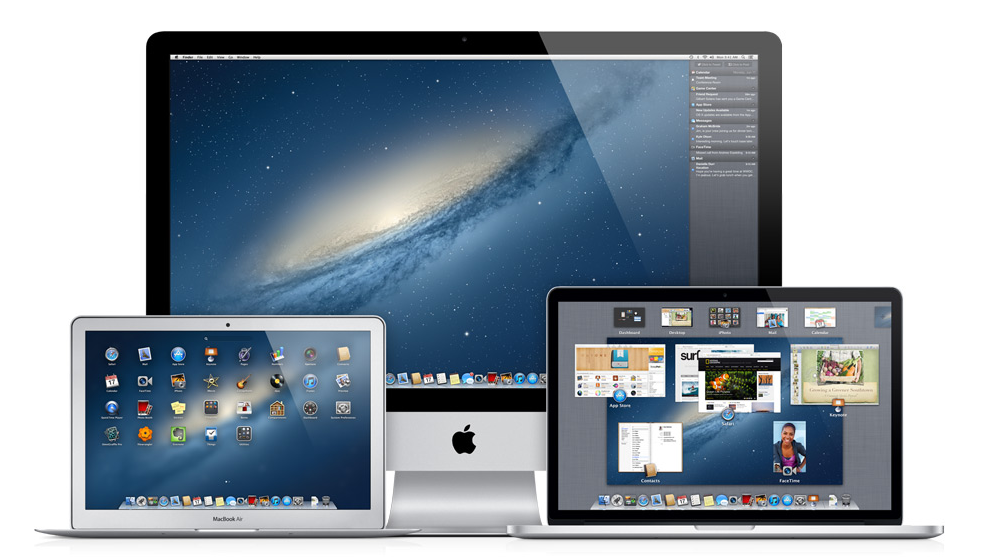 OS X 10.8 Mountain Lion [Multi]