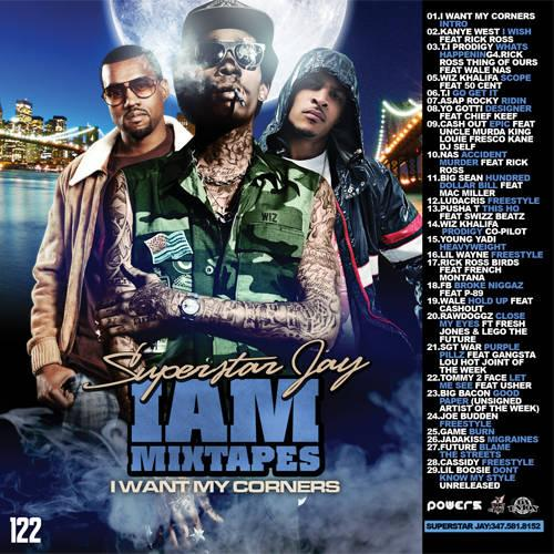 Superstar Jay - I Am Mixtapes 122 (2012) [Multi]