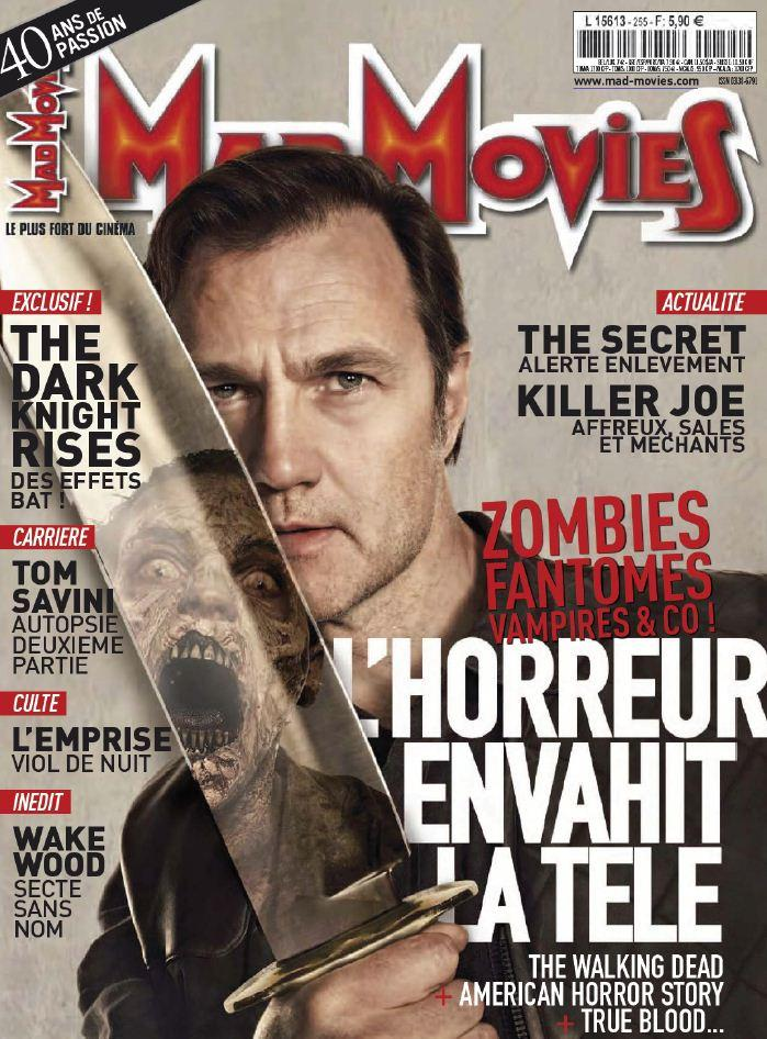 Mad Movies N°255 - Septembre 2012 [Multi]