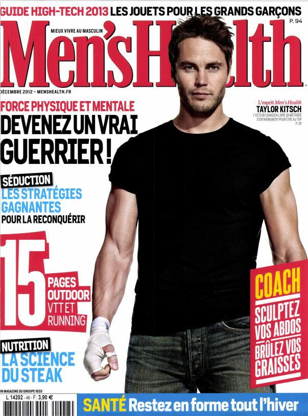 Men's Health France - Décembre 2012 [Multi]