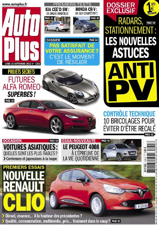 Auto Plus N°1255 - 24 au 30 Septembre 2012 [Multi]
