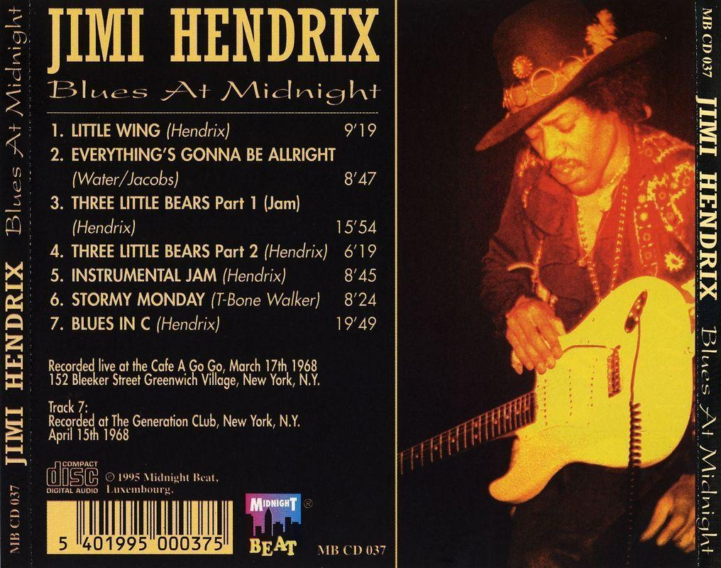Jimi Hendrix - Blues At Midnight [Multi]