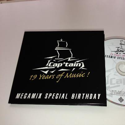 Cap'tain 19 Years Of Music (Megamix Special Birthday)  (2012) [Multi]
